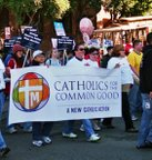 Catholics for the Common Good volunteers in action, San Francisco